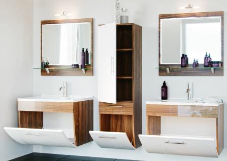 Badmöbel-Set Salona Badset 5 Teile Doppel-Waschplatz 70 cm Badezimmer *8000048 - Vorschau 2