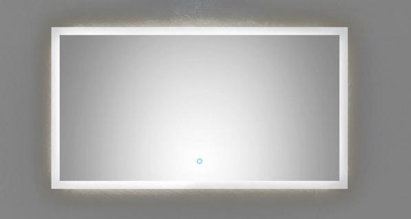 LED Badezimmer Spiegel EMOTION 120 x 65 cm Touch Bedienung 34 Watt 4500 K *12065