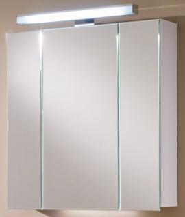 LED Bad Spiegelschrank LaVie 80 cm Steckdose IP21 Schalter 1 x 10 Watt *SPS-80