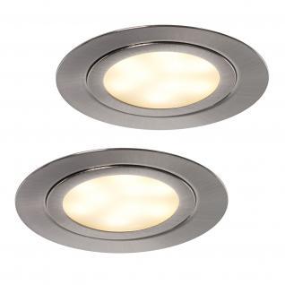 LED ALEXA 2-er Set Küchen Einbau Strahler Leuchte Lampe Spot 2 x 3 Watt *552023