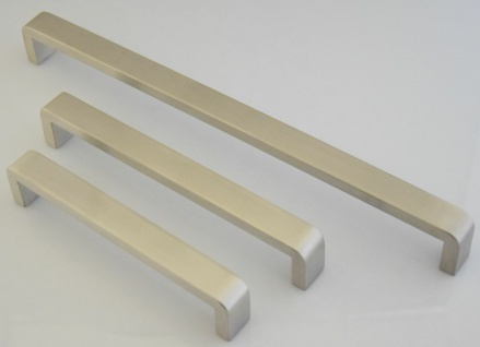 Möbelgriffe Griffe Küche BA 160 - 320 mm Edelstahl Küchengriffe Türgriff *1415