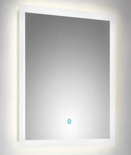 LED Badspiegel 60x60 cm Touch Bedienung Spiegel warmweiss 120 LED/Meter *6060 - Vorschau 2
