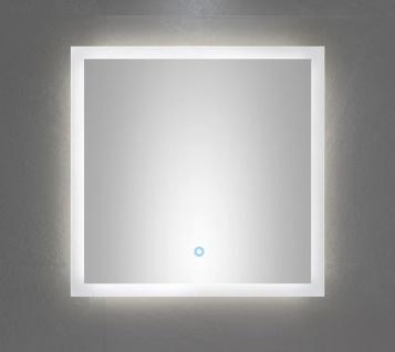 LED Badezimmer Wand Spiegel EMOTION 60 x 60 cm Touch Bedienung 34 W 4500 K *6060