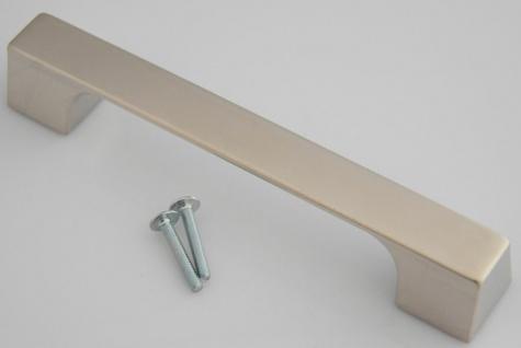 Küchengriff BA 128 & 160 mm Möbelgriff Schrankgriff Edelstahl Optik Türgriff*636