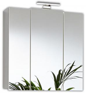 Spiegelschrank LED Beleuchtung 68 cm Schalter Stecker Kombi Badspiegel *5413-76