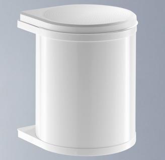 Hailo Mono 15 Liter Bio Abfall-/Mülleimer Küche Badezimmer Kosmetikeimer *516018