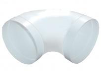 Rundrohrbogen Ø 150 mm Abluftbogen 90° gestreckt Lüftungsrohrbogen Bogen *50089