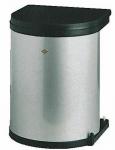 Wesco Bad Kosmetikeimer Küchen Abfall Mülleimer 13 L Ausschwenkautomatik *514625