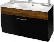 Waschplatz 90 cm Waschtisch Badezimmer Möbel Badmöbel Waschbecken *5603-85