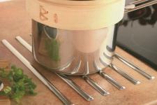 Küchen Edelstahl Topfuntersetzer Hitzepad selbstklebend Arbeitsplatte *40414