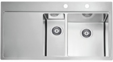 Alveus Einbauspüle Küchenspüle 980x525 mm Edelstahl Spülbecken Spüle *1103655