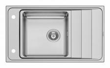 Küchen Einbauspüle 86 x 50 cm Edelstahl Spülbecken Fernbedienung *107152430