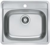 Alveus Einbauspüle Becken Spüle Küchenspüle 560x500 mm Edelstahl More10 *1111342