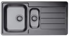 Alveus Küchenspüle Abwasch 1, 5 Spülbecken Einbauspüle LINE 10 Anthrazit *1078568