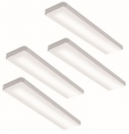 LED Küchen Unterbauleuchte KEY SCREEN CHANGE 4 x 6 W Lichtfarbe regelbar *568284
