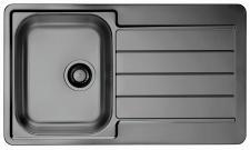 Alveus Küchenspüle Einbauspüle 860x500 mm Spülbecken LINE 20 Anthrazit *1078569