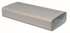 Abluft Lüftungsrohr Flachkanal 222 x 89 mm optimAiro 1, 0 Meter ohne Muffe *50550