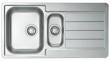 Alveus Einbauspüle Küchenspüle 980x500 mm Edelstahl Spülbecken Line 10 *1064281