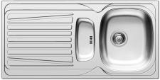 Küchenspüle Spülbecken 1000x500mm Einbauspüle mit Drehexcentergarnitur *509799
