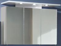 LED Bad Spiegelschrank 100cm Strahler 3x 1, 8 W Schalter Steckdose IP21 *ZL83212