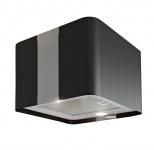 Umluft Küchen Abzug Inselhaube VILLA Schwarz 600 m³/h LED Licht 4 Stufen *558568