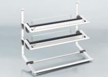 3-fach Küchen-/Rollenhalter Küchenreling Linero 2000 Abrisshilfe *521500.LP