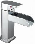 Badarmatur NIL Schwallauslauf Wasserhahn Verchromt Einhand Einhebelmischer *8930