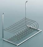 Küchenreling Linero 2000 Teller-/Geschirr-/Abtropfhalter 12 Teller *521487.LP