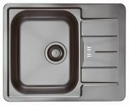 Alveus Spüle Einbauspüle Anthrazit Küchenspüle 615x500 mm LINE 60 Becken*1078537