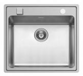 Pyramis Einbau Küchenspüle 570 x 520 mm Edelstahl Spülbecken Pella *108910301