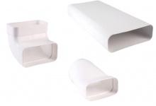 Hochleistungs Abluft Soft 125 Flachkanal Set 150 x 70 mm Küchenabzug *527601