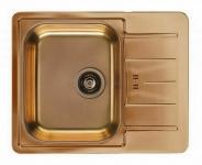 Alveus Einbauspüle Küchenspüle 615x500 mm Kupfer LINE 60 Spüle Becken *1068998
