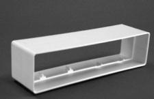 Breitkanal 220 x 54 mm Verbindungsstück Muffe Flachkanal Abluft Verbinder *50801