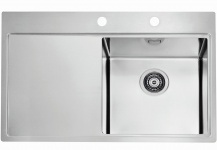 Alveus Einbauspüle Küchenspüle 790x525 mm Edelstahl Spülbecken Pure40 *1103651