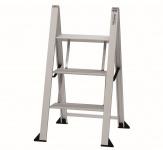 Klapptritt VIKINGSTEP® MAXI 3 Stufen Tritt Klappleiter Alu max. 150 kg *559152