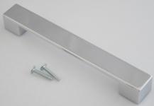 Schubladengriffe Küchengriff BA 160 mm Schrankgriff Möbelgriff Verchromt *626-04