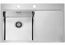 Alveus Einbauspüle Küchenspüle 790x525 mm Edelstahl Spülbecken Pure40 *1103610