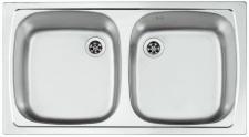 Alveus Küchenspüle 780x435 mm Einbauspüle Campingspüle Edelstahl Spüle *1122929