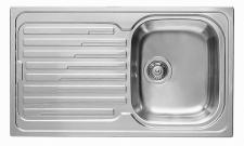 Pyramis Einbau Küchenspüle 860 x 500 mm Fernbedienung 1 Spülbecken *107120512