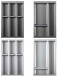 Schubladen Besteckeinsatz ArciTech Blum Zarge 60, 80, 90, 100, 120 cm *Separado
