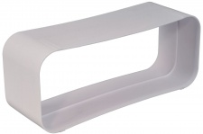 Abluft Aussenverbinder Flachkanal Verbinder Muffe 222 x 89 mm optimAiro *562503