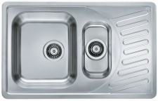 Alveus Einbauspüle Küchenspüle 810x510 mm Leinen Struktur Elegant 110 *1009389