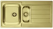 Alveus Einbauspüle Küchenspüle Gold Spülbecken LINE 10 Abwaschbecken *1078566