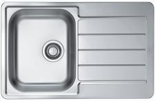 """Alveus Küchenspüle Einbau Spülbecken mit 1, 5"""" oder 3, 5"""" Ablaufgarnitur *Line 80"""