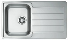 Alveus Spüle Küchenspüle 860x500 mm Einbauspüle Spülbecken Edelstahl *1065560