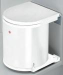Wesco Küchen Abfall Mülleimer 11 L Bad Kosmetikeimer Ausschwenkautomatik *40053