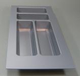 Schubladen Besteckeinsatz 30 cm Küchen Besteckkasten PVC zuschneidbar *44570