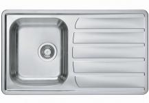 Alveus Einbauspüle Küchenspüle 860x500 mm Edelstahl Spüle Spülbecken *1108176