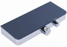 Brause Bad Dusch Thermostat Armatur 350 x 140mm Glasablage Chrom Anthrazit *0843