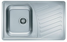 Alveus Küchenspüle Einbauspüle 810x510 mm Edelstahl Spülbecken Spüle *1009380